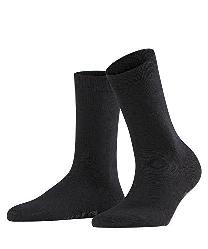 Falke Damen Socken Softmerino W SO-47488, Schwarz (Black 3009), 41-42