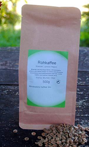Naturix24 Rohkaffee aus Brasilien Lambari Region 500g