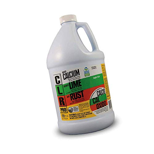CLR PRO Calcium, Lime & Rust Remover, 1 Gallon Bottle