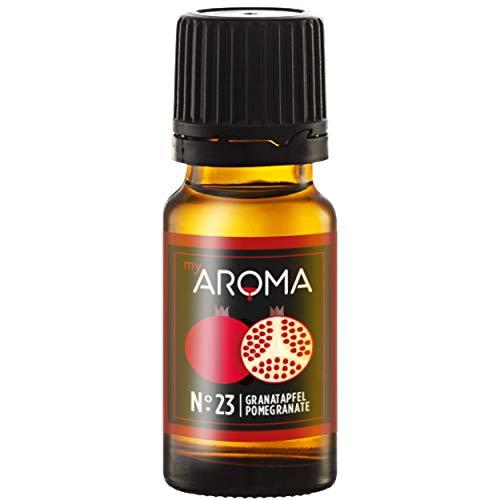 myAROMA | No. 23 (Granatapfel, 10 ml) | Rein natürliches Aroma | Geschmackstropfen zum Kochen, Backen & Mixen | Zuckerfrei & ohne Süßung