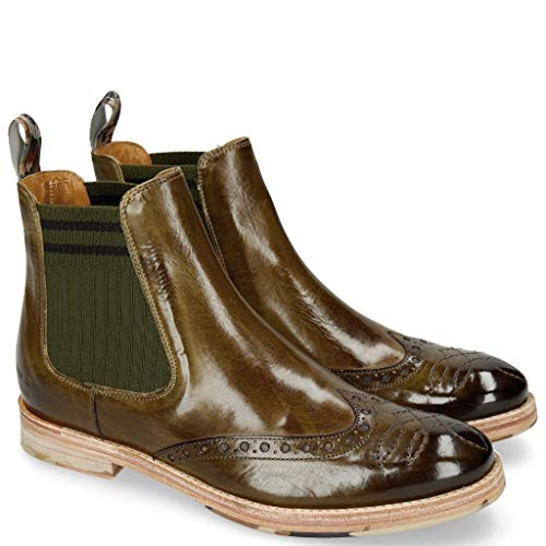 Melvin & Hamilton Amelie 77 Olive Dark Finishing-41