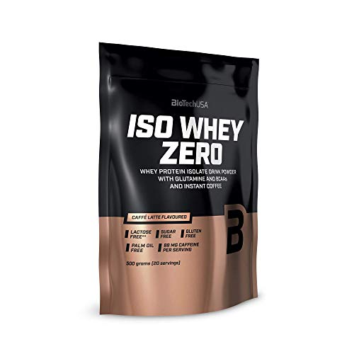 BiotechUSA IsoWhey Zero Native Isolate senza lattosio caffe latte 500 g