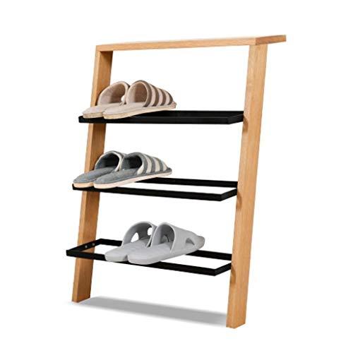 Förvaring av skohyllor, förvaringshylla för skorådgivare Kreativ lutad mot väggen Skohylla Hem Flerlager Enkel skohylla Displayställ Mode Fu