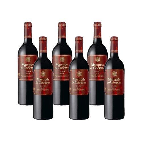 Marques de Caceres Crianza - Vino Tinto - 6 Botellas