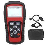 Scanner OBD2 con display LCD professionale, lettore di codice per auto della luce del moto...