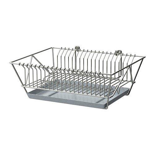 IKEA FINTORP Abtropfgestell vernickelt