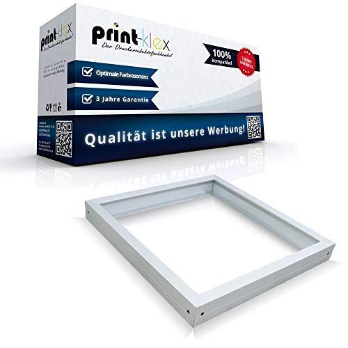 Office Pro Serie - Marco para panel LED (62 x 62 cm, montaje en techo, marco blanco, 620 x 620 mm)