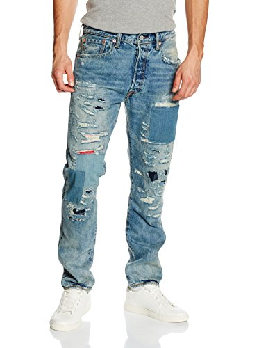 Levi's Jeans 501 Customized & Tapered Light Denim W31L32