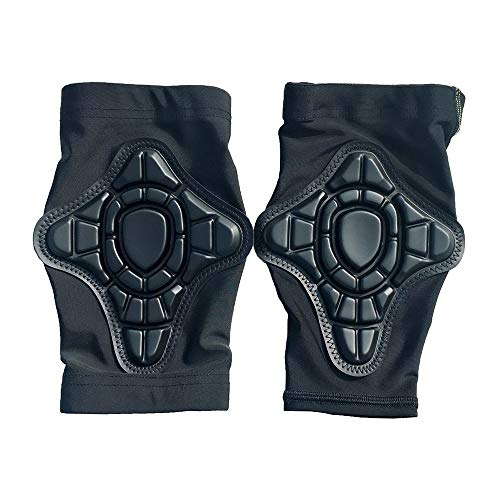MGWA knee pads Children's Jersey Protective Gear Knee Pads Siamese Elbow Riding Sports Climbing Knee Pads Small Protective Gear 4 Pieces/Set