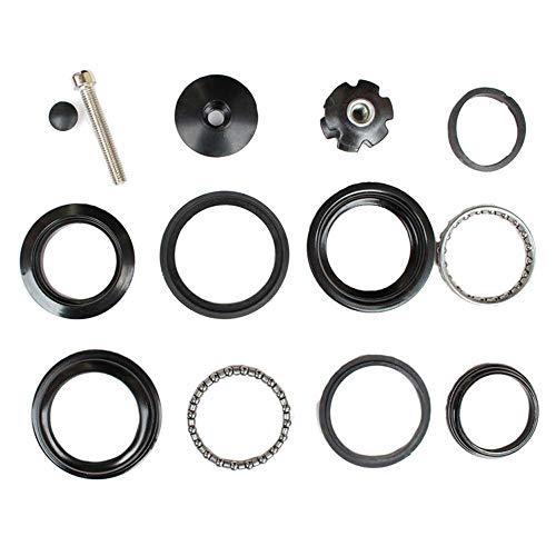 "BQSHOP 1-1/8"" Heavy Duty Headset Top Cap Bearings, 34mm / 44mm Diameter Threadless Stem Tapered Sealed BMX Bearing Nuts for Mountain MTB Bike (34MM)"