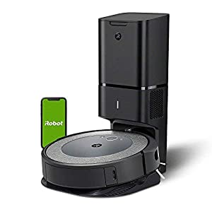 iRobot Roomba i3+ (3550) Robot Vacuum with Automatic Dirt Disposal Disposal - Empties Itself for up to 60 days, Wi-Fi Connected Mapping, Works with Alexa, Ideal for Pet Hair, Carpets