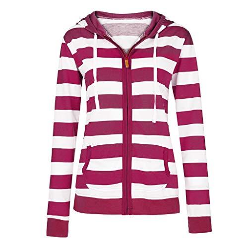 TOPKEAL Hoodie Pullover Damen Herbst Winter Kapuzenpullover mit Kapuze Sweatshirt Winterpullover Casual Slim Jacke Mantel Tops Mode 2020