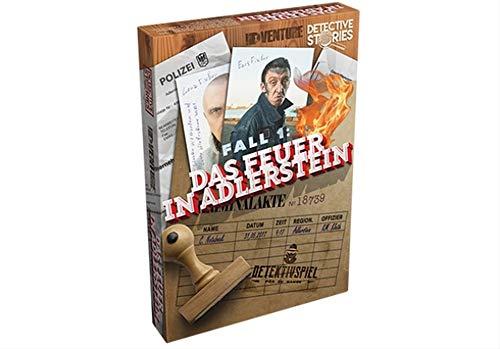 Unbekannt Detective Stories - Fall 1: Feuer in Adlerstein