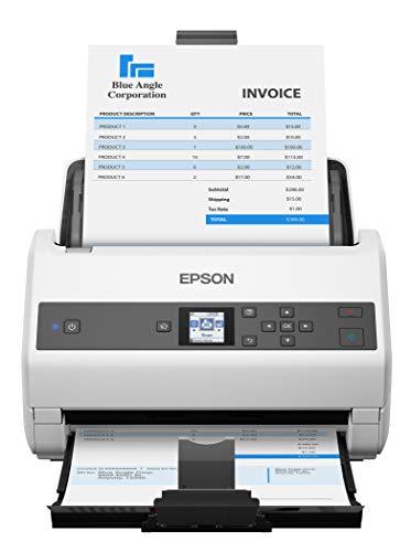 Fantastic Deal! Epson Workforce DS-970 Sheetfed Scanner - 600 dpi Optical,White