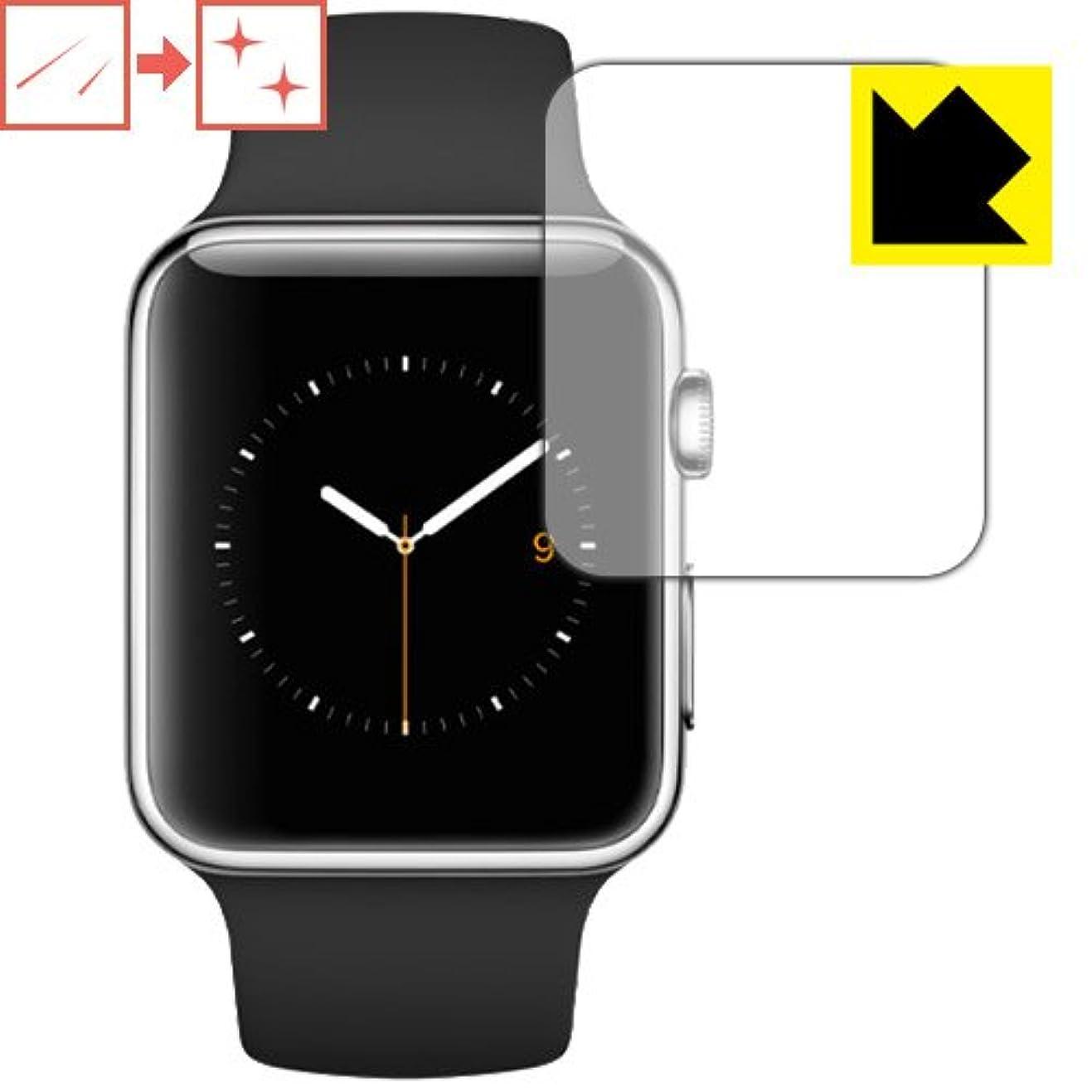 穀物エンターテインメント満足できるキズ自己修復保護フィルム Apple Watch 42mm 日本製