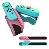 Muñequeras Dance Band, 2 Piezas Correa para la Muñeca para Just Dance 2021 2020 2019 2018 Nintendo Switch Joy con Adjustable Brazalete Brassard