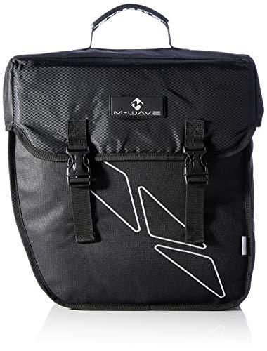 M-Wave Gepäckträgertasche Amsterdam Single, schwarz, 18 l