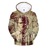 Photo de Greatbe Hip Hop Pop Smoke Shirt à manches courtes Casual Tops T-shirts pour adultes et enfants - - S