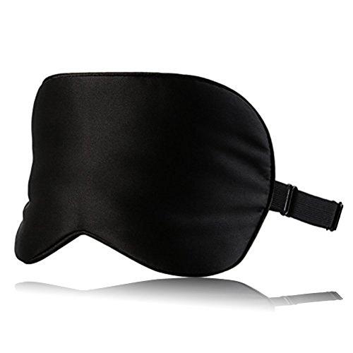 KAIHONG Antifaz para Dormir - Suave Venda para Ojos para Viajar 100% Totalmente Opaco Cómoda Máscara del Sueño para Relajación Profunda El Mejor Protector para Los Ojos Lujoso Antifaz