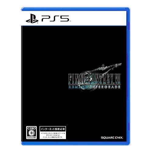ファイナルファンタジーVII リメイク インターグレード 【Amazon.co.jp 限定】オリジナルデカジャケ (24cm×24cm) -PS5