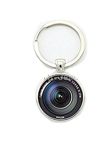 デジタル一眼レフレンズアート写真キーチェーンを保つことが永遠に瞬間をカメラ・レンズ・キーチェーン