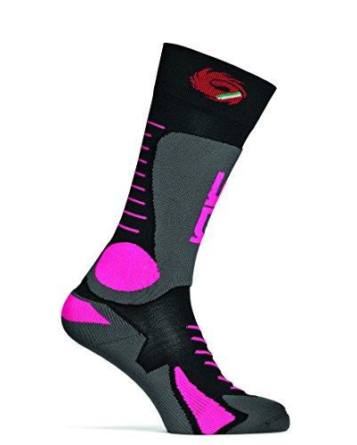 Sidi MX Socken Tony Pink Fluo Größe L-XL