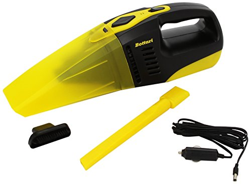 Bottari 30066 Maxi Cleaner Aspirapolvere, 12 V, 80 W, per Auto, Giallo/Nero