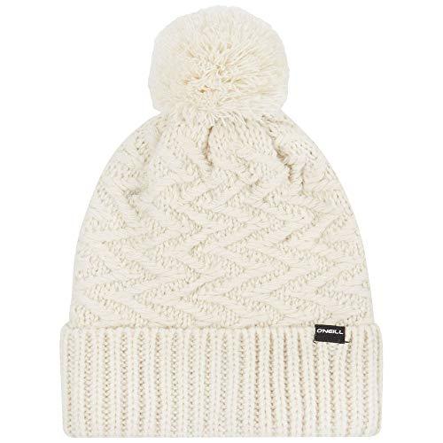 O'Neill Damen BW Nora Wool Beanie Headwear, Powder White, one Size