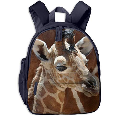 Kinderrucksack Kleinkind Jungen Mädchen Kindergartentasche Kleines Giraffenbaby Backpack Schultasche Rucksack