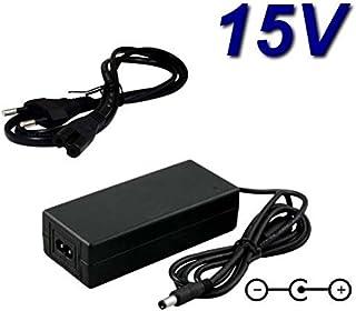 TOP CHARGEUR * Adaptateur Secteur Alimentation Chargeur 15V pour Sono Portable Ibiza Sound PORT15VHF-BT