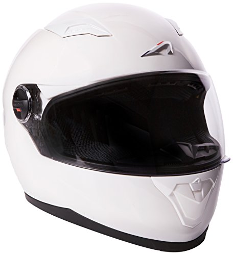 Astone Helmets gt2m-whs Motorradhelm GT Gloss, schwarz matt, Größe S