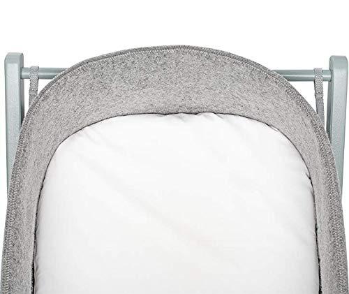 moKee WoolNest Fitted Sheet, White Waterproof
