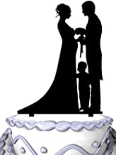 Best wedding cake toppers pregnant bride with groom Reviews