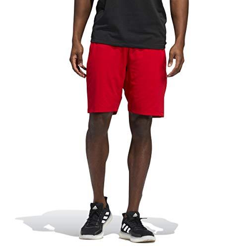 adidas Camiseta Deportiva para Hombre Tokoyo Olympic Badge of Sport Rojo (Scarlet) S