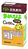 まめぴよ ココア味 1ケース 125ml×24本 カルシウム強化(150mg含有) (ココア味)