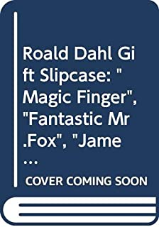 """Roald Dahl Gift Slipcase: """"Magic Finger"""", """"Fantastic Mr.Fox"""", """"James and the Giant Peach"""", """"Charlie and the Chocolate Fact..."""
