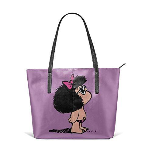 XGBags Custom Bolsos De Hombro De Las Mujeres Waterproof Toda Mafalda Leather Handbag Tote Bag For Women