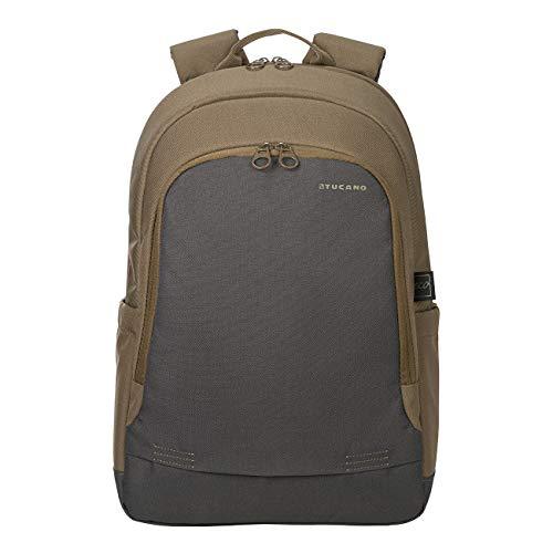 Tucano- Bico Mochila para Ordenador portátil 15.6 Pulgadas, Compatible con MacBook Pro 16. Ligera, de poliéster Reciclado, para Trabajo y Universidad