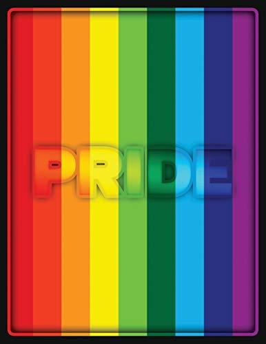 professional Gay Pride Rainbow Flag 2020-2023 4-year Planner: Man Sleep Runner, Notepad, etc.