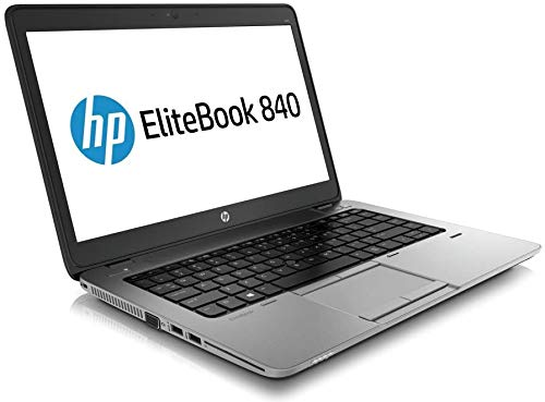 HP Elitebook 840 G1 Laptop, I5-4200U, 1.6GHZ, 256GB Solid State Drive, 8GB RAM, With Windows 10 Professional (Renewed)