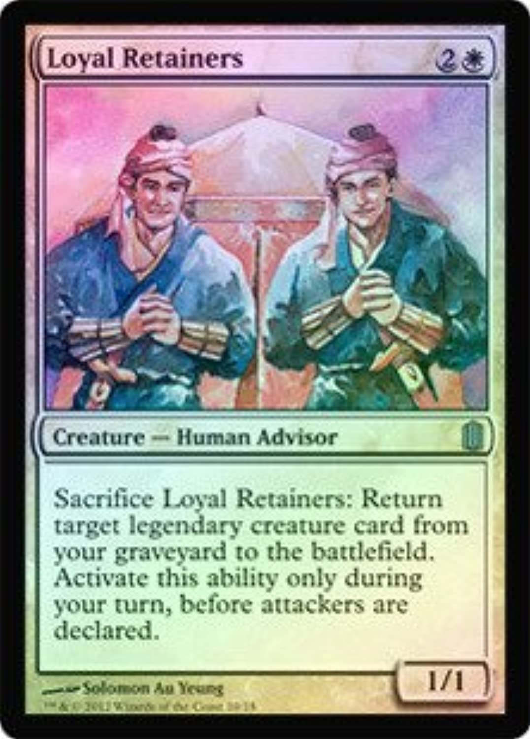 Magic  the Gathering  Loyal Retainers  Commander's Arsenal  Foil by Magic  the Gathering