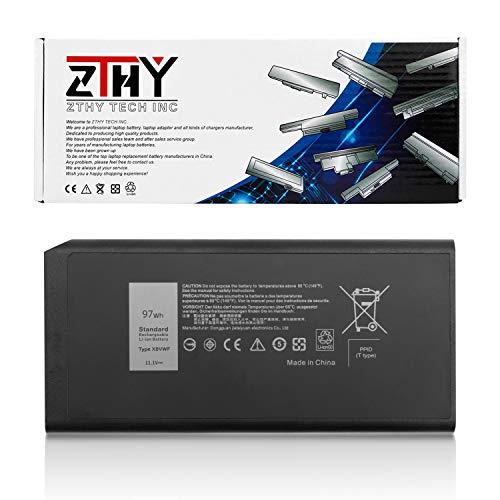 K KYUER 97Wh X8VWF Laptop Battery for Dell Latitude 14 Rugged 5404 5414 E5404 Extreme 7404 7414 E7404 Series Laptop CJ2K1 VCWGN 0VCWGN YGV51 DKNKD XN4KN XRJDF 0W11V7 453-BBBE 11.1V 8700mAh 9-Cell