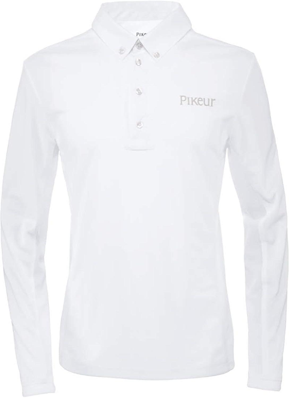 Pikeur Mens Resa Competition Shirt White