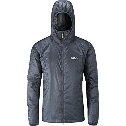 RAB Xenon-X Jacket - Men's Ebony/Zinc Large