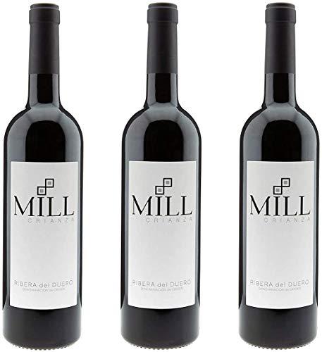Mill Crianza - Vino Tinto - Ribera Del Duero Denominación De Origen (3 x 750 ml)