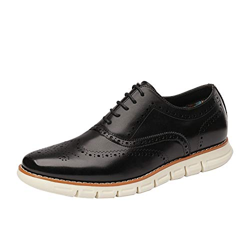 Bruno Marc Men's Dress Sneakers Casual Wingtip Derby Oxford Formal Shoes Black Size 11 M US GRANDWING