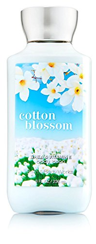 Bath and Body Works Cotton Blossom Body Lotion 8 Ounce