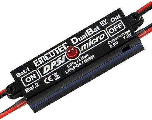 DPSI Micro - DualBat 5.9V   7.2V (Double AliHommestation - Régulateur)