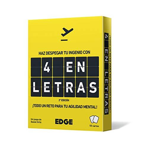 Edge Entertainment EEES4L01 - Juego de cartas 4 en Letras , color/modelo surtido
