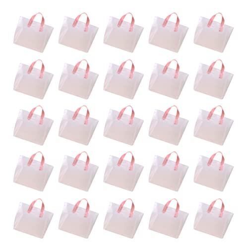 Hemoton 50 Piezas de Plástico Transparente Bolsas de Polietileno Abiertas Planas Bolsa de Plástico Transparente Bolsa de Frutas Bolsa de Compras de Supermercado Bolsa de Almacenamiento